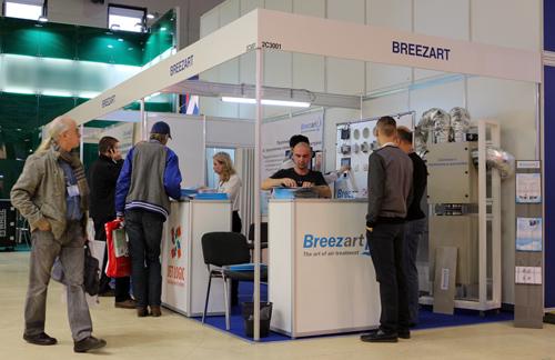 Стенд Breezart на выставке Мир Климата 2014